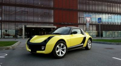 Smart Roadster kabrioleto nuoma