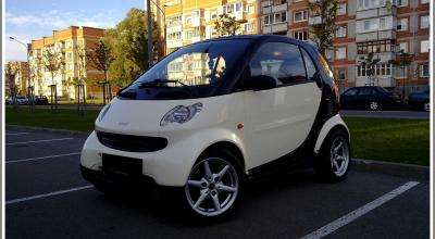 Smart Fortwo nuoma